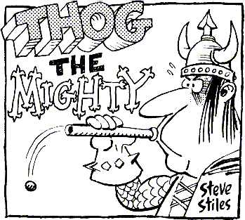 Thog by Steve Stiles